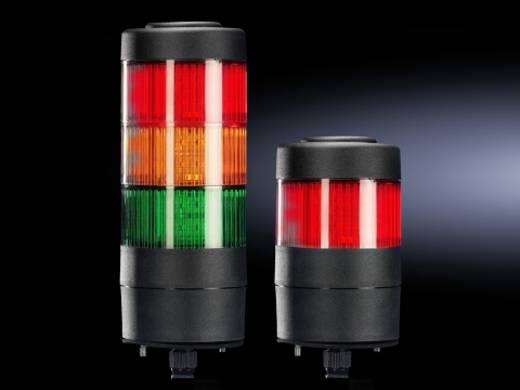 LED-Signalsäule 1-stufig Rot 24 V DC/AC Rittal SG 2372.130 1 St.
