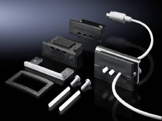 Kabeldurchführungsplatte 2-fach Klemm-Ø (max.) 8 mm Kunststoff Schwarz (RAL 9005) Rittal SZ 2400.300 1 St.
