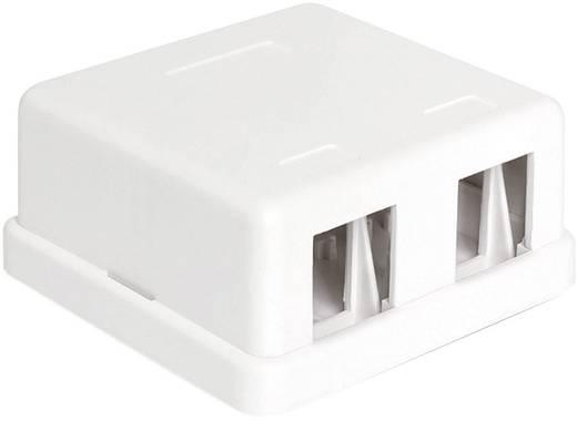 2 Port Netzwerk-Patchpanel Delock 86207 Unbestückt 1 HE
