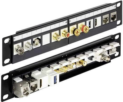 12 Port Netzwerk-Patchpanel Delock 43259 Unbestückt 1 HE