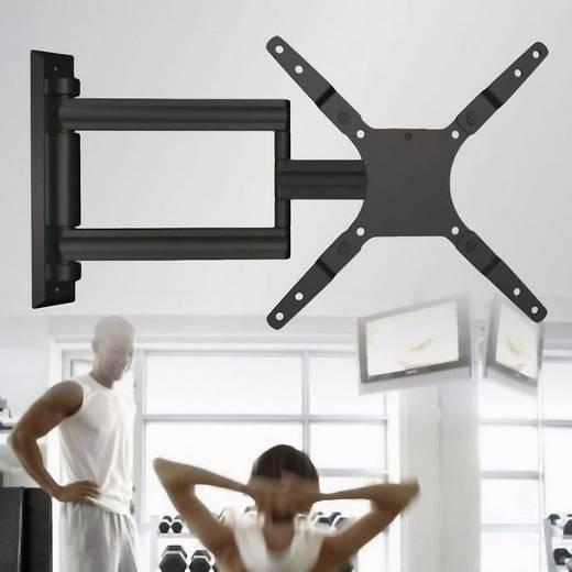 athletic tv wandhalterung uni arm 15 38 cm 37 94 cm schwarz silber kaufen. Black Bedroom Furniture Sets. Home Design Ideas
