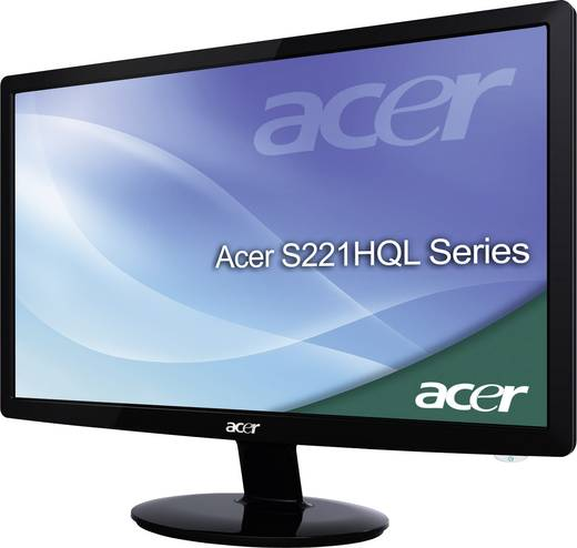 LED-Monitor 54.6 cm (21.5 Zoll) Acer S221HQLDbd 5 ms DVI, VGA TN Film