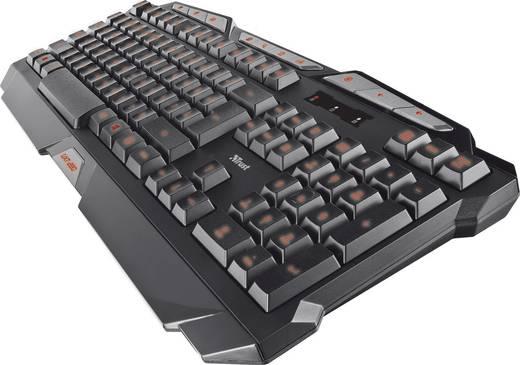 USB-Gaming-Tastatur Trust GXT 280 Beleuchtet Schwarz