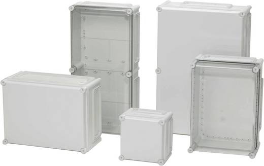 Installations-Gehäuse 380 x 190 x 130 Polycarbonat Licht-Grau (RAL 7035) Fibox EKMB 130 G 1 St.