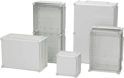 Installations-Gehäuse 380 x 190 x 130 Polycarbonat Licht-Grau (RAL 7035) Fibox EKMB 130 T 1 St.