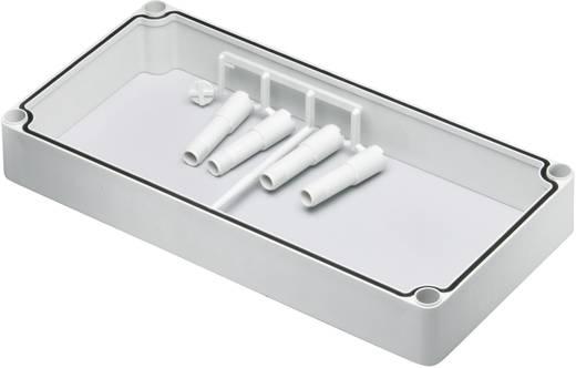Zwischenrahmen (L x B x H) 380 x 190 x 50 mm Polycarbonat Licht-Grau (RAL 7035) Fibox EK EKMZR 1 St.