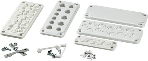 Fibox FMC 3F-SET Kabeldurchführungsplatte Thermoplast Licht-Grau (RAL 7035) 1 St.