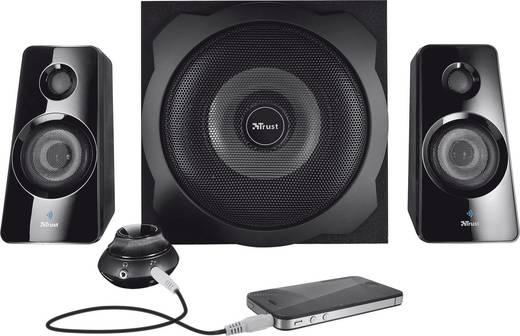 2.1 PC-Lautsprecher Bluetooth®, Kabellos Trust Tytan 2.1 Bluetooth 60 W Schwarz