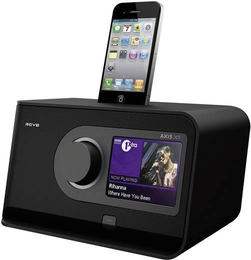 revo axis xs internet und dab radio mit bluetooth und. Black Bedroom Furniture Sets. Home Design Ideas