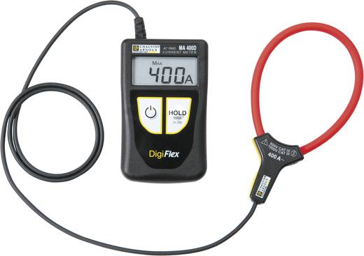 Stromzange, Hand-Multimeter digital Chauvin Arnoux DigiFlex MA400D-250 Kalibriert nach: Werksstandard CAT IV 600 V Anze