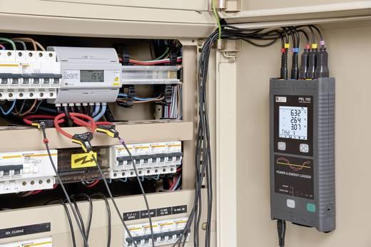 Chauvin Arnoux PEL103+ Leistungs- und Energierecorder mit 3 MiniFLEX Stromwandler, Netz-Analysegerät, Netzanalysator, P0