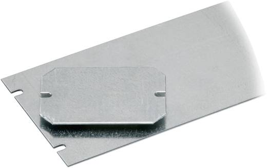 Montageplatte (L x B) 80 mm x 54 mm Stahlblech Fibox PICCOLO B-MP 1 St.