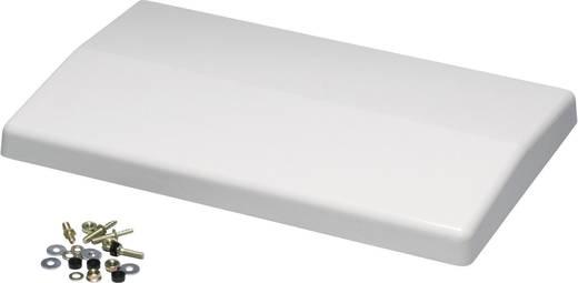 Regenhaube (L x B x H) 1050 x 370 x 50 mm Polyester Licht-Grau (RAL 7035) Fibox CAB WPX 10 1 St.