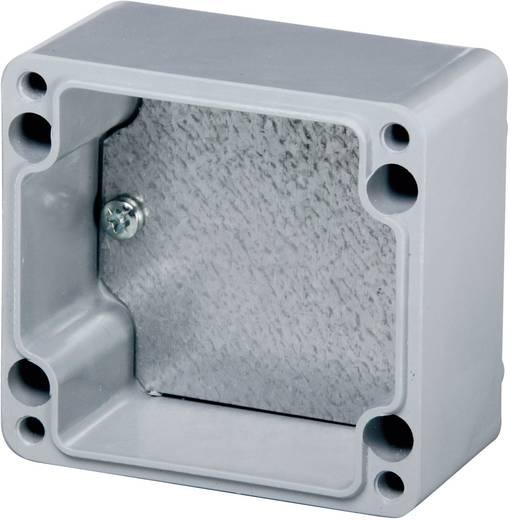 Montageplatte (L x B) 26 mm x 57 mm Stahlblech Fibox TM 0507 1 St.