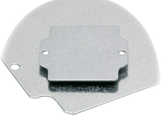 Montageplatte (L x B) 231 mm x 383 mm Stahlblech Fibox EURONORD PM 2540 1 St.
