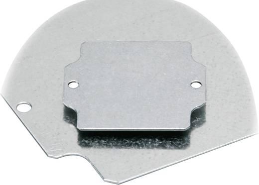 Montageplatte (L x B) 64 mm x 69 mm Stahlblech Fibox EURONORD PM 0808 1 St.