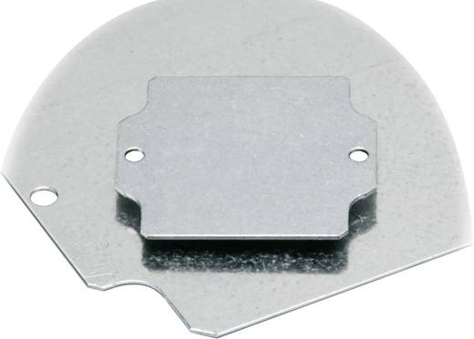 Montageplatte (L x B) 64 mm x 99 mm Stahlblech Fibox EURONORD PM 0811 1 St.