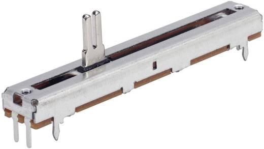 Schiebe-Potentiometer 500 Ω Mono 0.25 W linear TT Electronics AB PS4510MA1B 1 St.