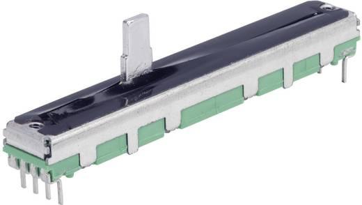Schiebe-Potentiometer 100 kΩ Stereo 0.25 W linear TT Electronics AB PS45M-0MC1B R100K 1 St.
