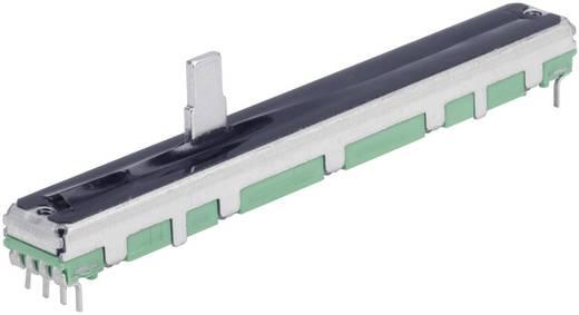 Schiebe-Potentiometer 10 kΩ Stereo 0.25 W linear TT Electronics AB PS60M-0MC1B R10K 1 St.