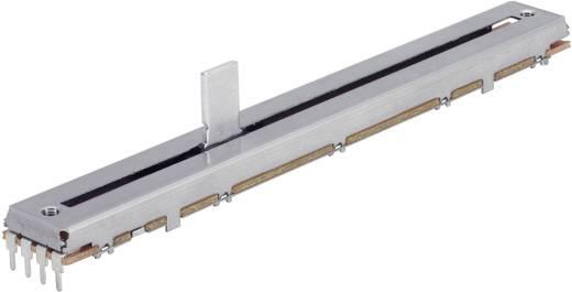 Schiebe-Potentiometer 10 kΩ Stereo 0.25 W linear 4111903545 1 St.