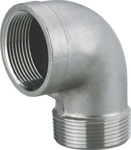 """Winkelanschlussstück 44,9 mm (1 1/2"""") IG, 47,81 mm (1 1/2"""") AG Edelstahl Metabo 0903064838"""