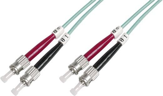 Glasfaser LWL Anschlusskabel [1x ST-Stecker - 1x ST-Stecker] 50/125µ Multimode OM3 1 m Digitus Professional