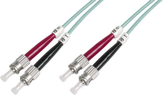Glasfaser LWL Anschlusskabel [1x ST-Stecker - 1x ST-Stecker] 50/125µ Multimode OM3 3 m Digitus Professional