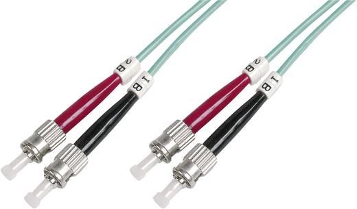 Glasfaser LWL Anschlusskabel [1x ST-Stecker - 1x ST-Stecker] 50/125µ Multimode OM3 5 m Digitus Professional