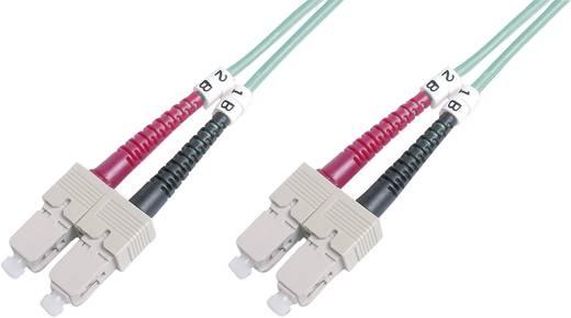 Glasfaser LWL Anschlusskabel [1x SC-Stecker - 1x SC-Stecker] 50/125µ Multimode OM3 10 m Digitus Professional