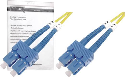 Glasfaser LWL Anschlusskabel [1x SC-Stecker - 1x SC-Stecker] 9/125µ Singlemode OS2 5 m Digitus