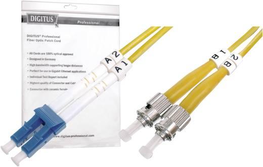 Glasfaser LWL Anschlusskabel [1x LC-Stecker - 1x ST-Stecker] 9/125µ Singlemode OS2 1 m Digitus Professional
