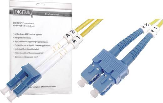 Glasfaser LWL Anschlusskabel [1x LC-Stecker - 1x SC-Stecker] 9/125µ Singlemode OS2 5 m Digitus