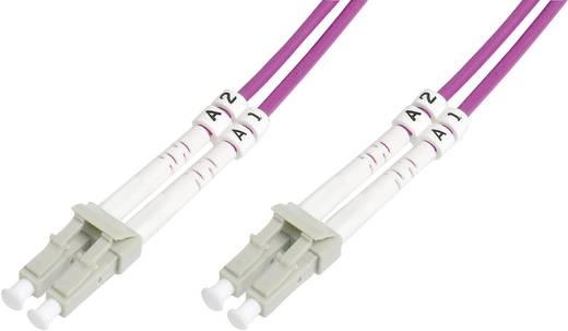 Glasfaser LWL Anschlusskabel [1x LC-Stecker - 1x LC-Stecker] 50/125µ Multimode OM4 5 m Digitus Professional