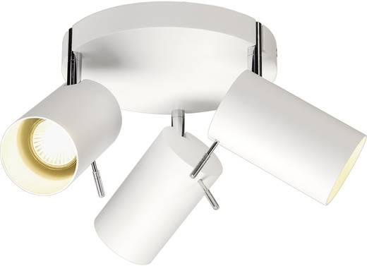 Deckenstrahler Halogen, LED GU10 225 W SLV Asto Tube III 147414 Weiß