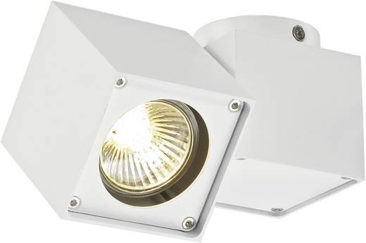 Deckenstrahler Halogen GU10 50 W SLV Altra Dice 151521 Weiß