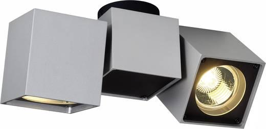 Deckenstrahler Halogen GU10 100 W SLV Altra Dice 151534 Silber-Grau, Schwarz
