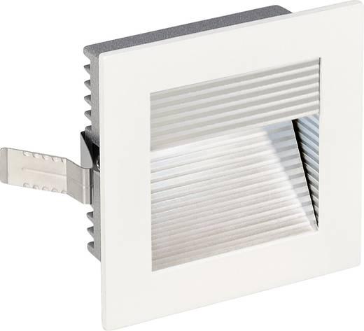 LED-Einbauleuchte 1 W Neutral-Weiß SLV Frame Curve 113290 Weiß