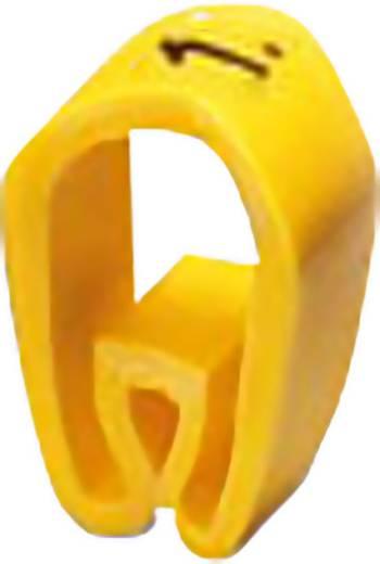 Kennzeichnungsclip Aufdruck unbedruckt Außendurchmesser-Bereich 1.90 bis 3.80 mm 0800459 PMH 1:UNBEDRUCKT Phoenix Contac