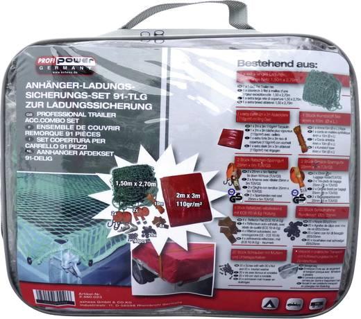 Ladungs-Sicherungs-Set Profi Power 2460023