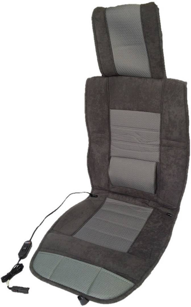 APA 12V Auto Sitzheizung beheizbare Sitzauflage 2-stufig schwarz Heizfunktion