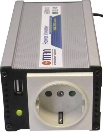 Wechselrichter Profi Power TITAN Spannungswandler 12V auf 230V 200W 200 W 12 V/DC 11 - 15 V/DC Zigarettenanzünder-Steck