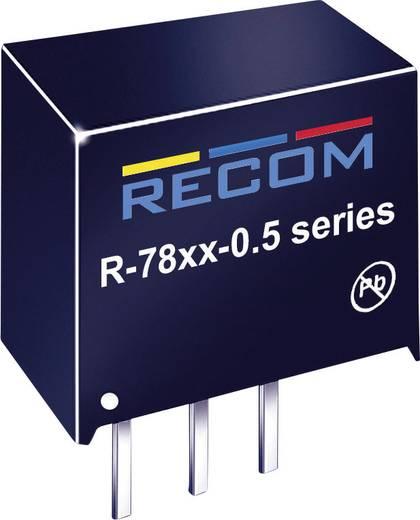 DC/DC-Wandler, Print RECOM R-786.5-0.5 6.5 V/DC 0.5 A 3.75 W Anzahl Ausgänge: 1 x