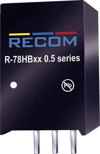 DC/DC-Wandler, Print RECOM R-78HB5.0-0.5 48 V/DC 5 V/DC 0.5 A 2.5 W Anzahl Ausgänge: 1 x