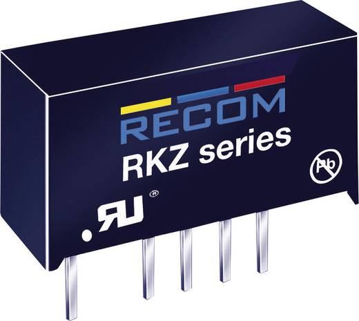 DC/DC-Wandler, Print RECOM RKZ-1212S 12 V/DC 12 V/DC 168 mA 2 W Anzahl Ausgänge: 1 x