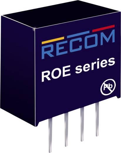 DC/DC-Wandler, Print RECOM ROE-0505S 5 V/DC 5 V/DC 200 mA 1 W Anzahl Ausgänge: 1 x