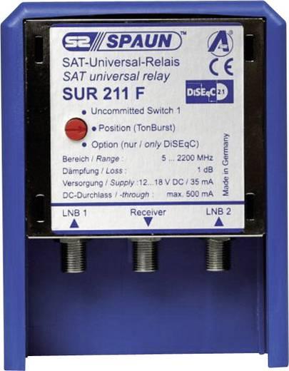 SAT-Verteiler Spaun Sur 211 WSG 5 - 2200 MHz