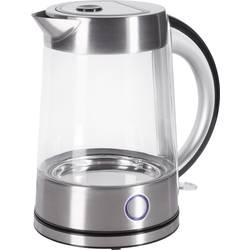 Wasserkocher schnurlos Renkforce Glas, Edelstahl