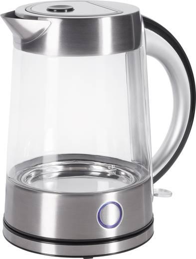 Renkforce Wasserkocher schnurlos Glas, Edelstahl