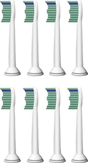 Aufsteckbürsten für elektrische Zahnbürste Philips Sonicare ProResults 8 St. Weiß